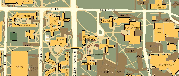 map of mizzou campus Mizzou Campus Map map of mizzou campus